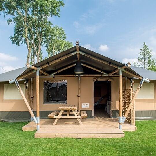 large glamping lodge