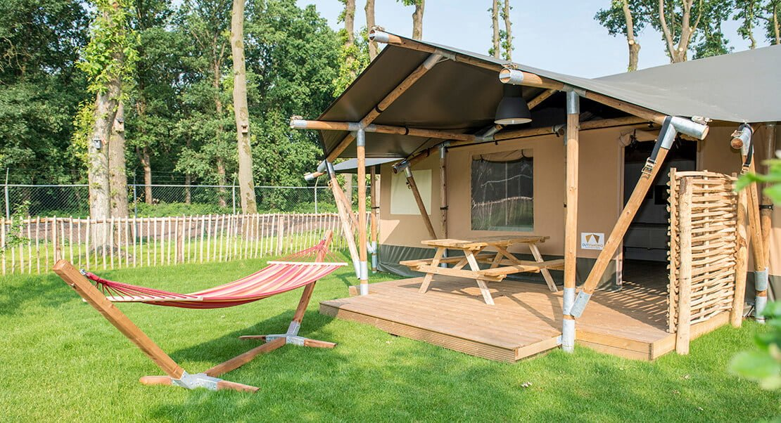 Glamping lodges and supplies
