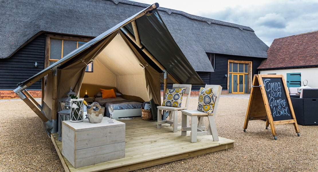 small glamping tent for sale